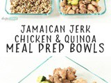 Jamaican Jerk Chicken and Quinoa (Meal Prep)