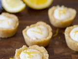 Mini No-Bake Lemon Tarts (Gluten Free & Vegan)