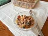 Peach-Berry Ice Box Crumble