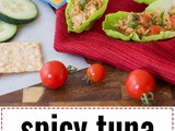 Spicy Tuna Lettuce Cups (Gluten and Soy Free)