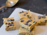 SunButter Chocolate Chip Fudge (Grain Free and Vegan)