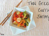 Thai Green Curry Shrimp {Recipe ReDux}