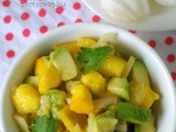 Mango Avocado salsa | Mexican salad | Quick salad