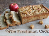 Caramel Apple Quick Bread / #OurFamilyTable