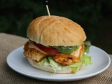 Chipotle Chicken Sandwich / #SundaySupper