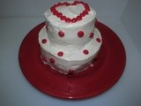 Chocolate Cake w/ Cherry Filling and Cream Cheese Frosting