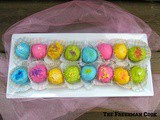 Colorful White Chocolate Truffles