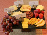 Fruit and Cheese Platter/#SundaySupper