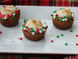 Gingerbread Cookie Cups w/ Tapioca Pudding / #SundaySupper