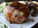 Prosciutto Wrapped Brie and Onion Stuffed Pork Chops / #SundaySupper