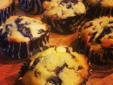 Don't Ignore It! | Blueberry & White Chocolate Muffins