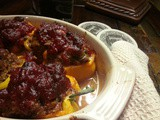 Southern Comfort | Stuffed Peppers with Tomato Jam