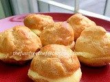 The Easiest Choux Pastry with Lemon Custard Filling