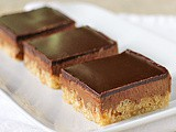 Chocolate Peanut Butter Crispy Bars