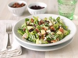 Chopped Salad with Turkey, Bacon, and Apples