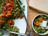 Shoots and Grains and Things [Spelt Salad with Pea-Shoot Pesto]
