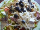 Blueberry Chef Salad