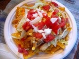Chicken Taco Salad with Fresh Corn and Ranch Dressing (Dinner Salad for Six)
