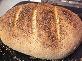 Multi-Grain Bread with Sesame, Flax, and Poppy Seeds