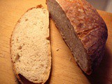 No-Knead Crusty White Bread Recipe from King Arthur Flour a big Winner with Me