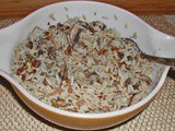 Family Favorites Pecan Rice with Sherry