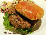 Family Favorites...Spinach Turkey Burgers