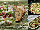 Ham and Hominy Salad