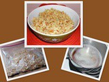 Make it Yourself...Noodles with Brown butter and Cracker crumbs