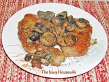 Pork Chops with Mushrooms and Garlic Marsala