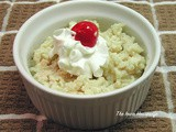 Small Recipes... Rice Pudding