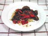 Small Recipes... Stir Fry Beef with Peppers