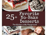 25+ All-Time Favorite No-Bake Desserts