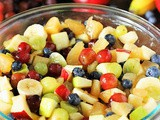 Apple Pie Filling Fruit Salad
