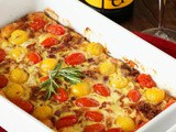 Butter Mom Up with JaM Cellars & Tomato-Bacon Breakfast Casserole