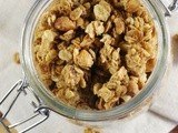 Peanut Butter Granola {with Honey-Roasted Peanuts}
