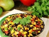 Roasted Corn, Black Bean, & Mango Salsa {my all-time favorite salsa}