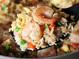 Skillet Shrimp Fried Rice