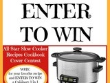Vote for Me as Slow Cooker Recipe All-Star!! {& Your Chance to win a Cuisinart Multicooker}