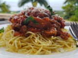 Almost classic bolognese