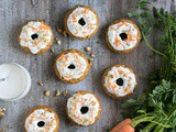 Carrot Cake Baked Donuts {Dairy-free}