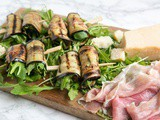Eggplant Roll-ups with Grana Padano Cheese and Prosciutto di San Daniele