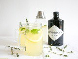 Gin Lemon with Thyme and Basil