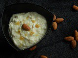 Rice pudding for Toddlers