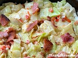 Bacon cabbage skillet