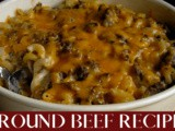 Ground beef recipes your family will love