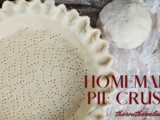 Homemade pie crusts
