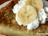 Impossible banana cream pie