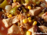 Slow cooker salsa soup