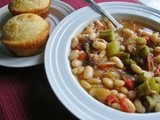 Southern Lady's White Bean Soup