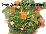 Fresh Spinach and Bacon